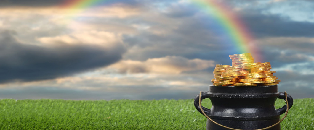 Find Your Pot of Gold at Rainbow's End